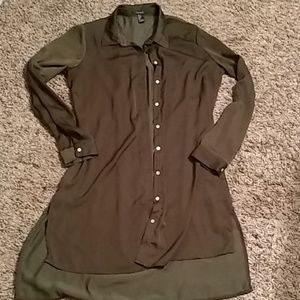Forever 21 button down dress